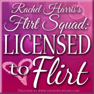 One of the Flirts of Rachel Harris' Flirt Squad